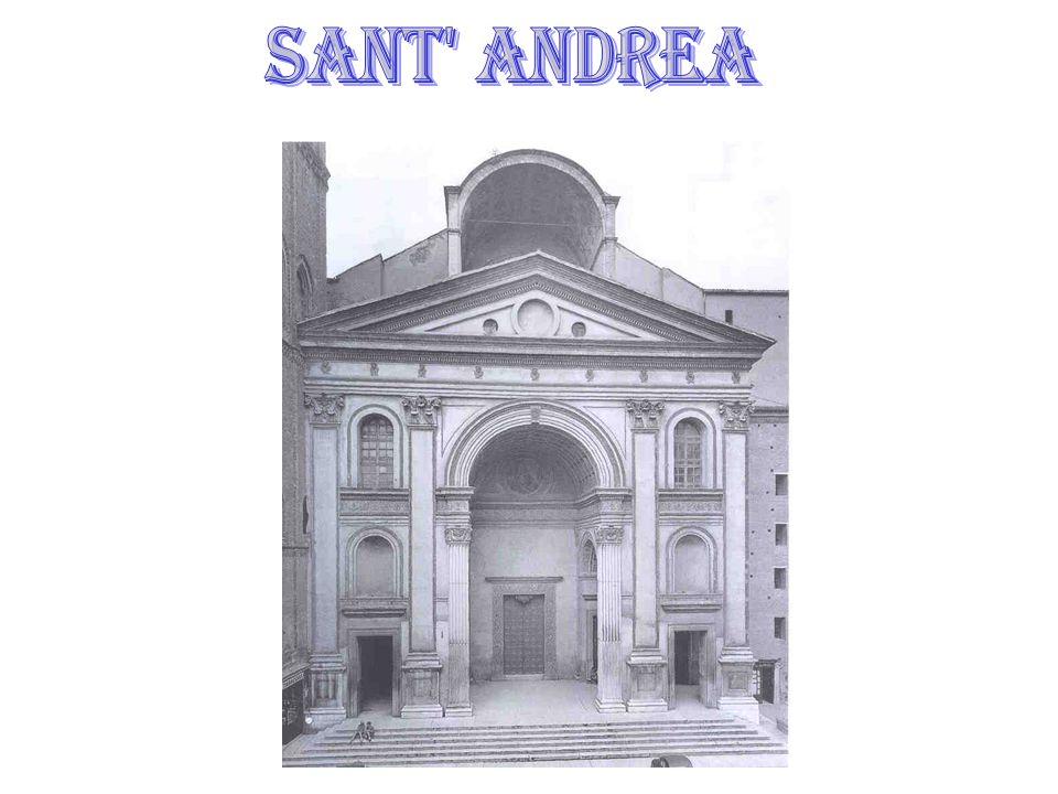 The Basilica di Sant' Andrea is an Renaissance Church in Mantua, Italy.