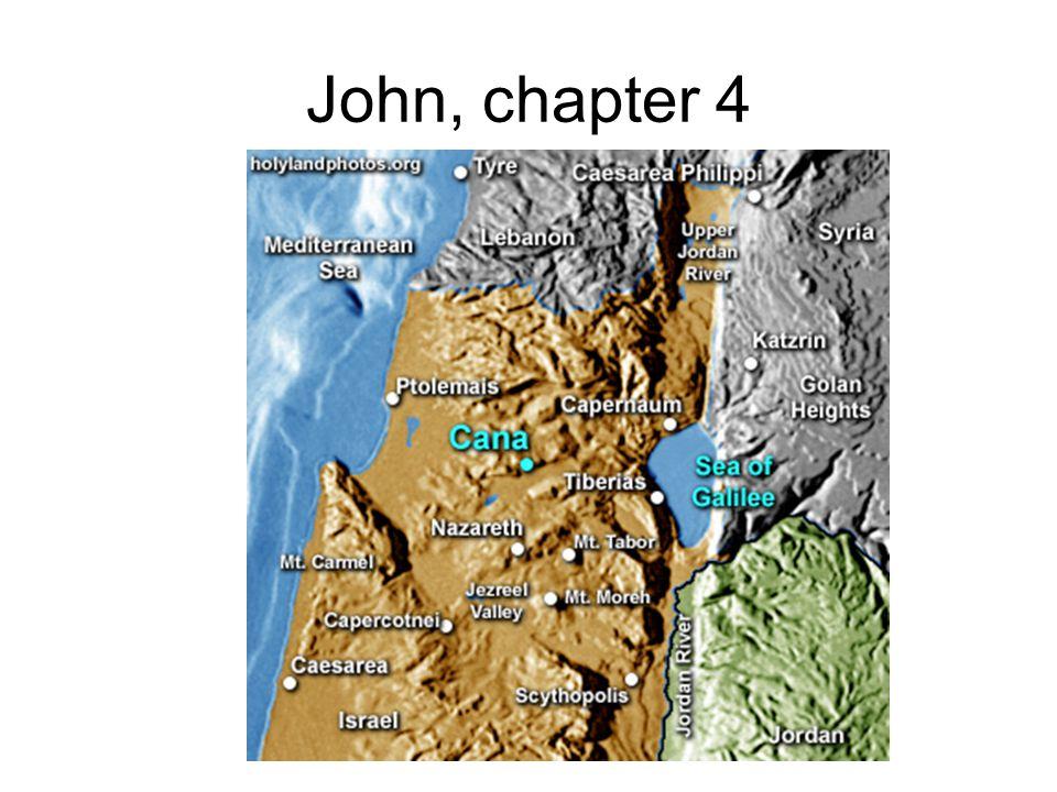John, chapter 4