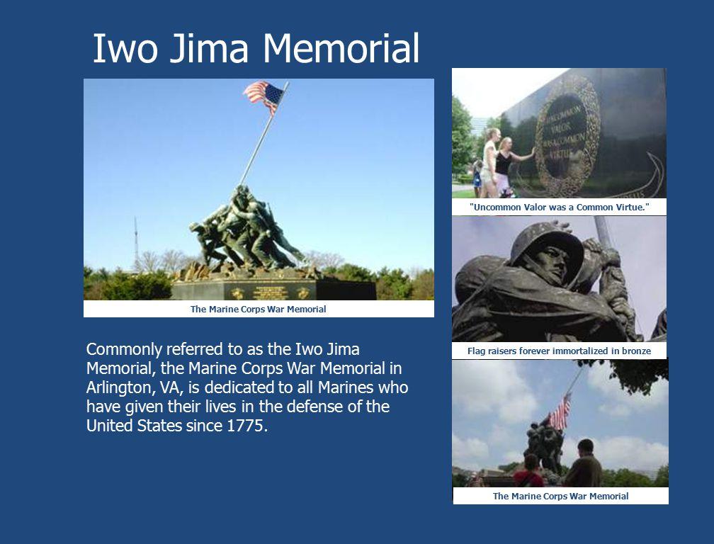 Iwo Jima Memorial The Marine Corps War Memorial