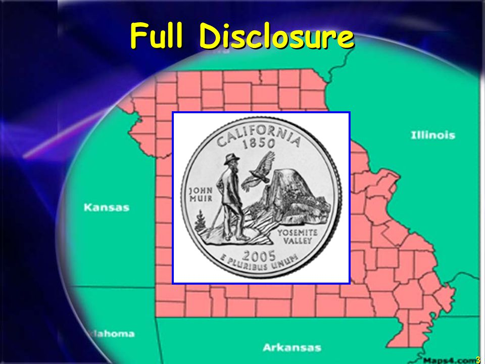 3 Missouri Full Disclosure