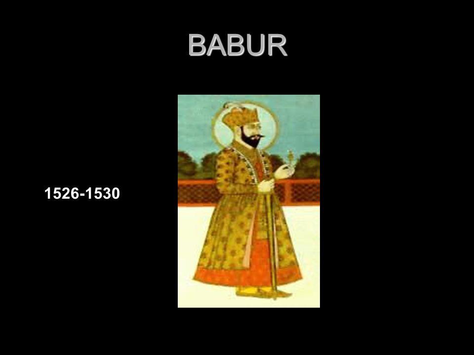 BABUR 1526-1530