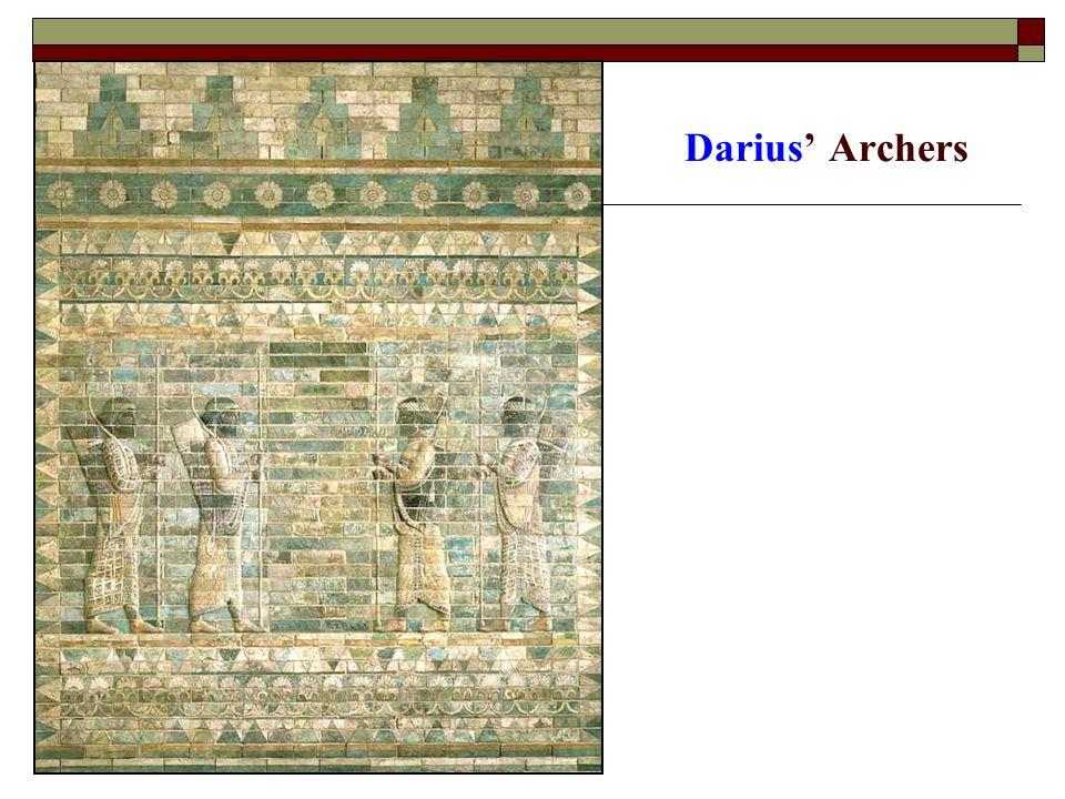 Darius' Archers