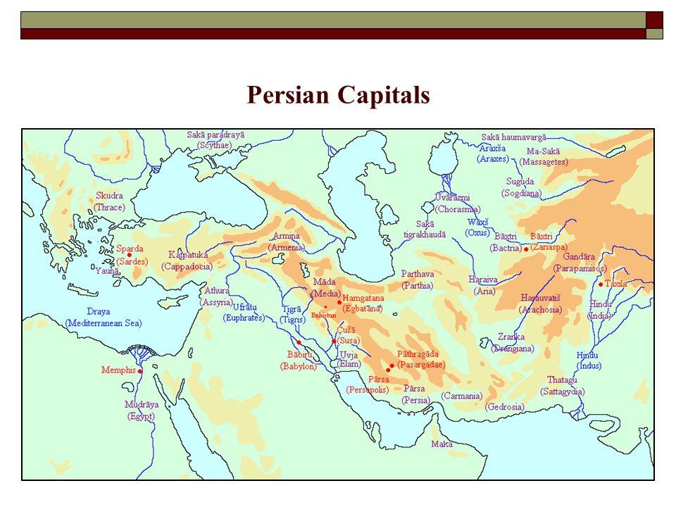 Persian Capitals