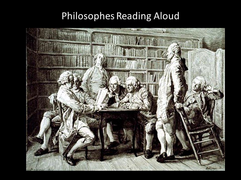 Philosophes Reading Aloud