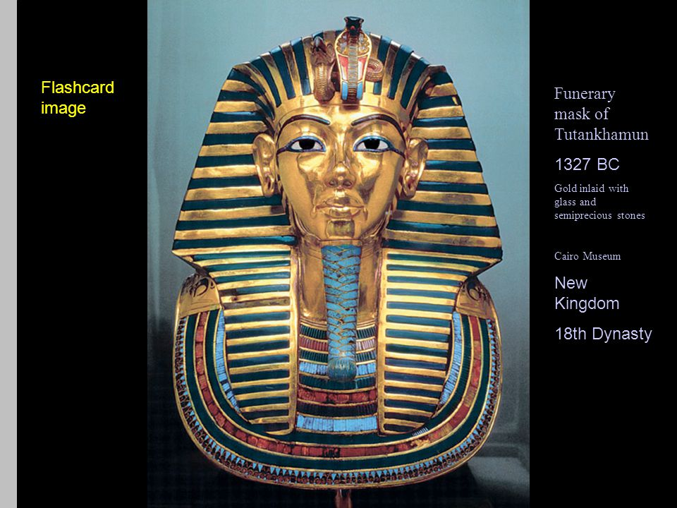 Queen Nefertiti (flashcard) 1302-1234 BCE 18th Dynasty/ New Kingdom Painted limestone 21 (life size) Tomb found in 1904.