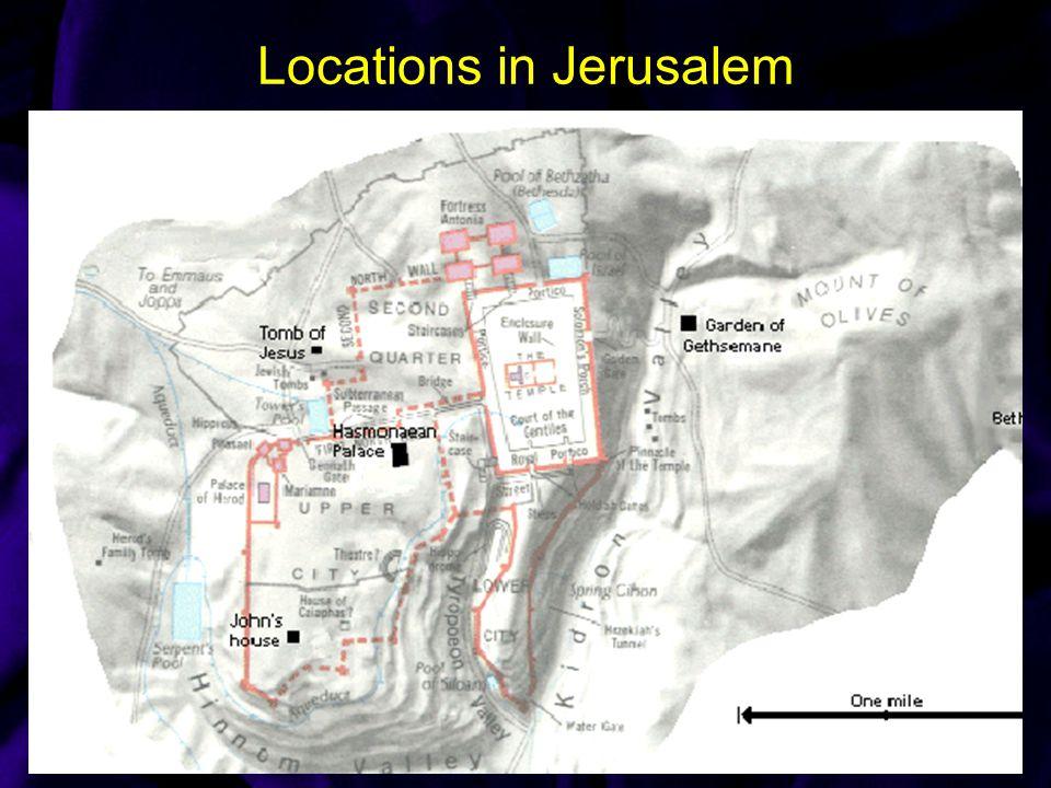Locations in Jerusalem