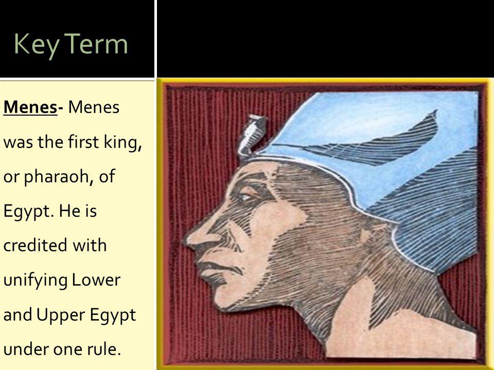 Key Term Pharaoh- A ruler of ancient Egypt.