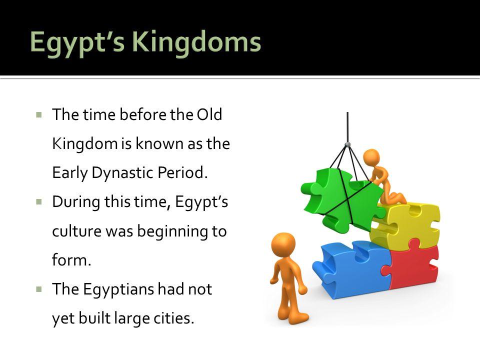 Between each major era were Intermediate Periods.