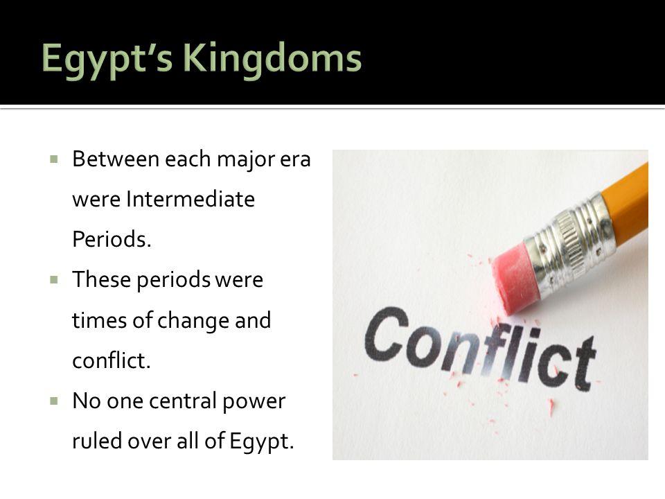  The pharaohs ruled Egypt for 3,000 years.