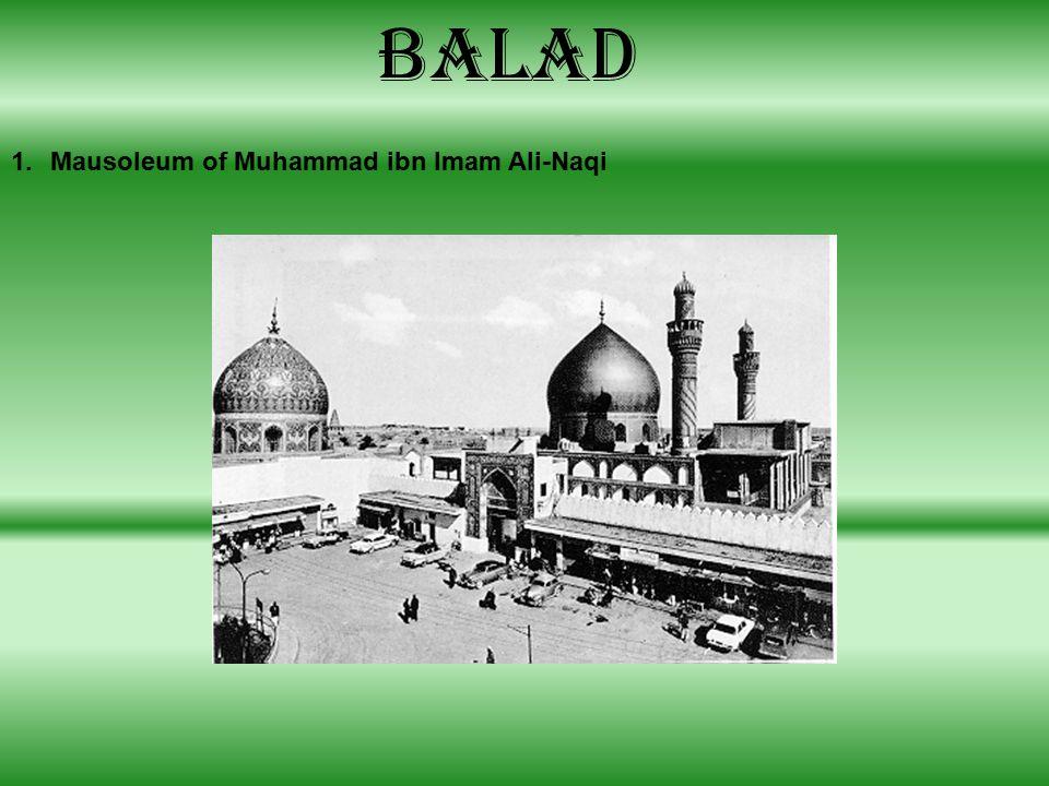 Balad 1.Mausoleum of Muhammad ibn Imam Ali-Naqi