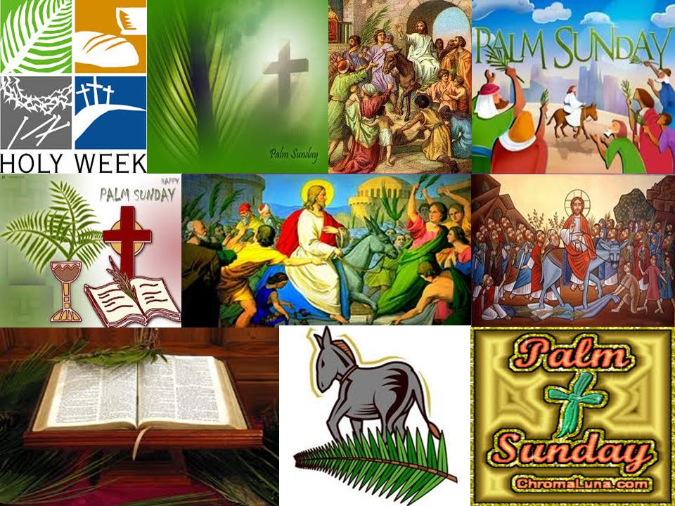 Palm Sunday Palm Sunday is the sixth Sunday of Lent and the last Sunday before Easter.