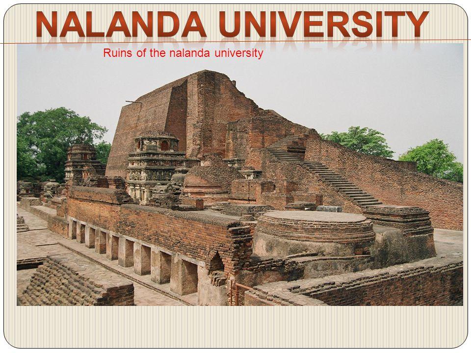 Ruins of the nalanda university