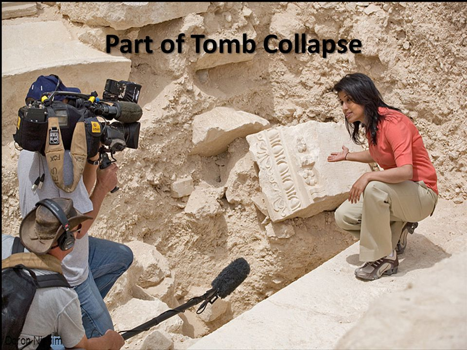 Part of Tomb Collapse