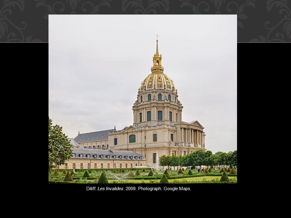 Diliff. Les Invalides. 2009. Photograph. Google Maps.