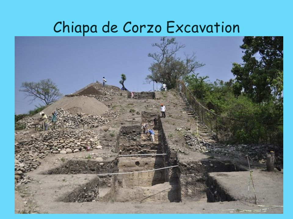 Chiapa de Corzo Excavation