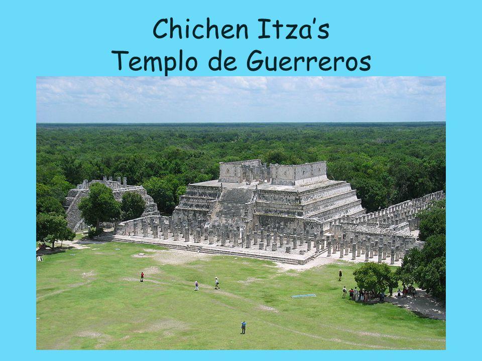 Chichen Itza's Templo de Guerreros