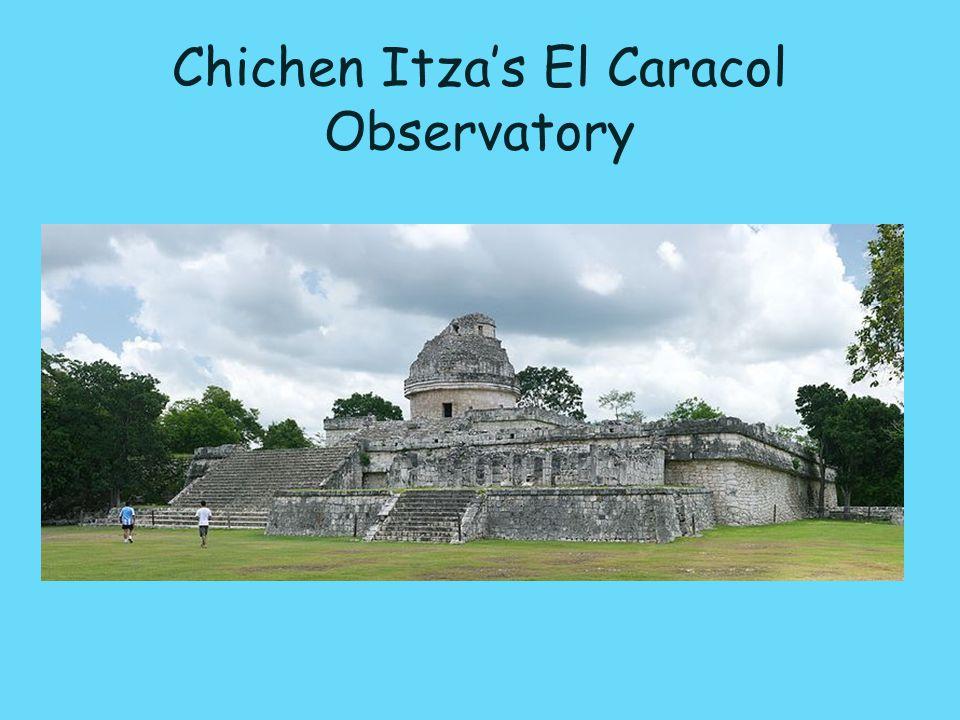 Chichen Itza's El Caracol Observatory
