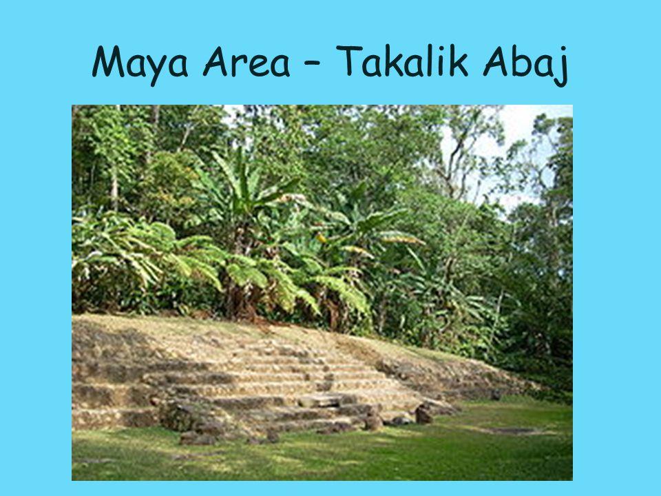 Maya Area – Takalik Abaj