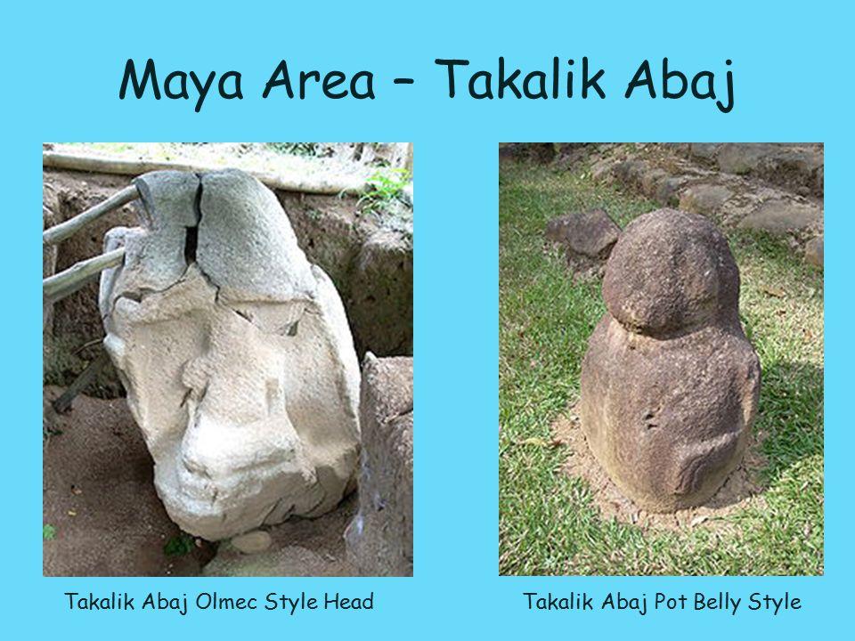 Takalik Abaj Olmec Style Head Takalik Abaj Pot Belly Style