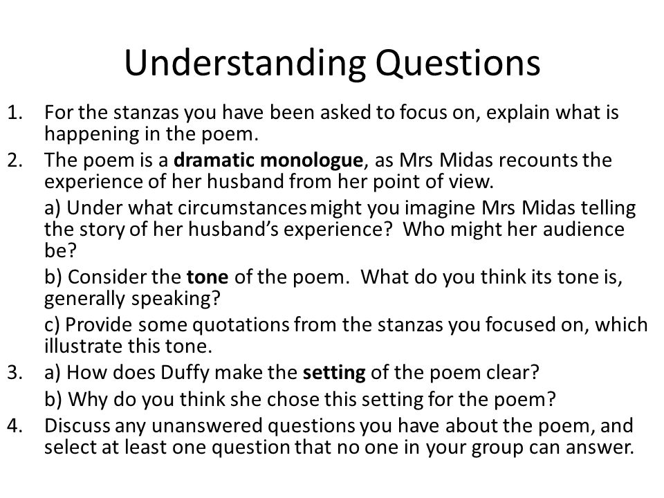 Mrs Midas Analysis
