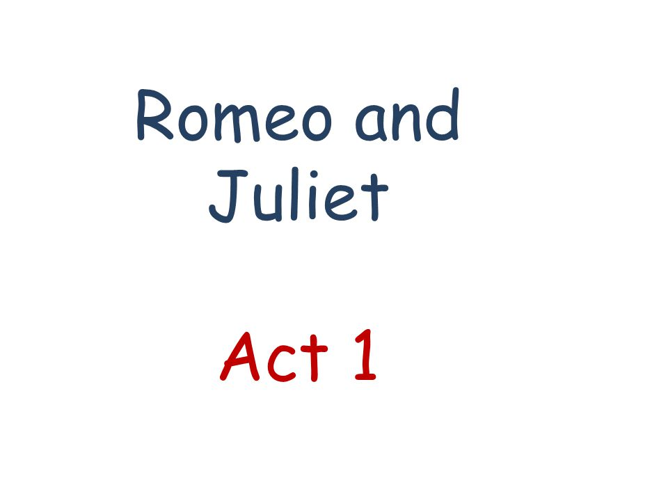 Where does the play Romeo and Juliet take place.A.