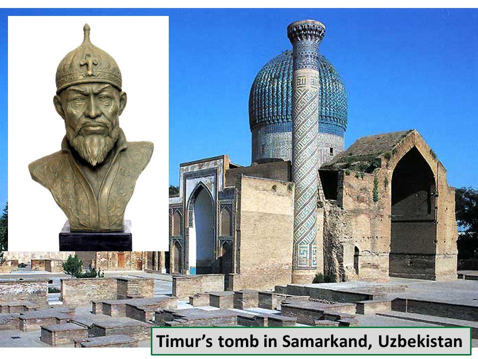 Timur's tomb in Samarkand, Uzbekistan