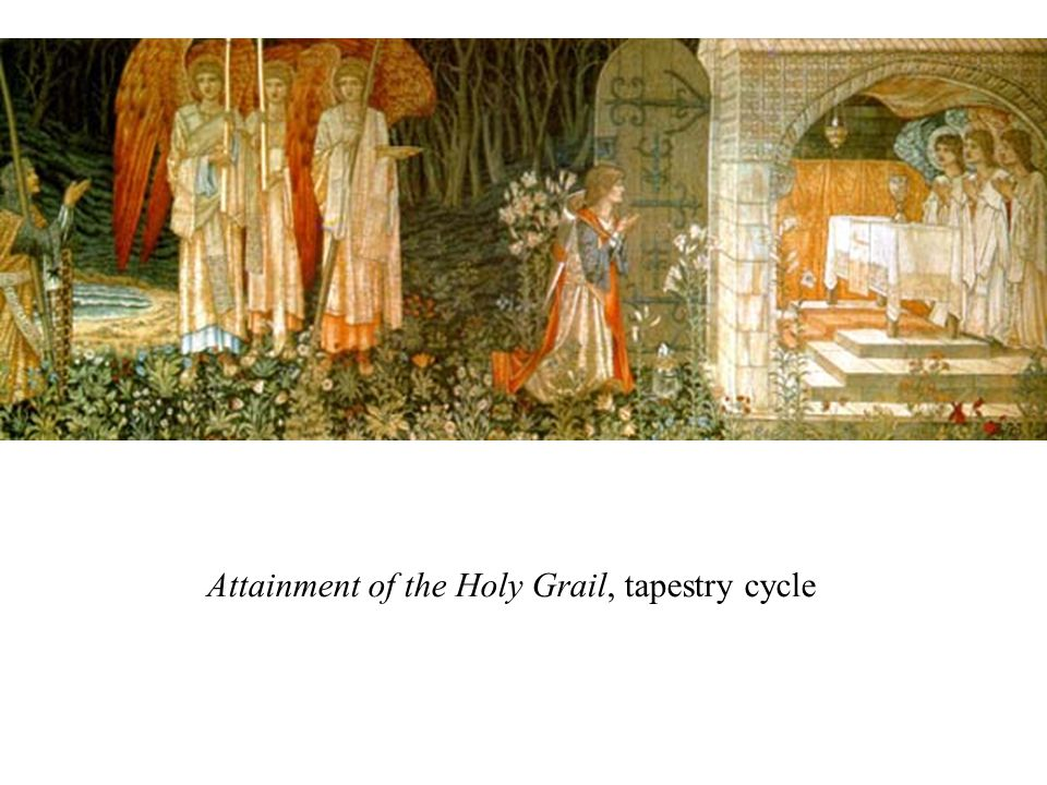 Attainment of the Holy Grail, tapestry cycle