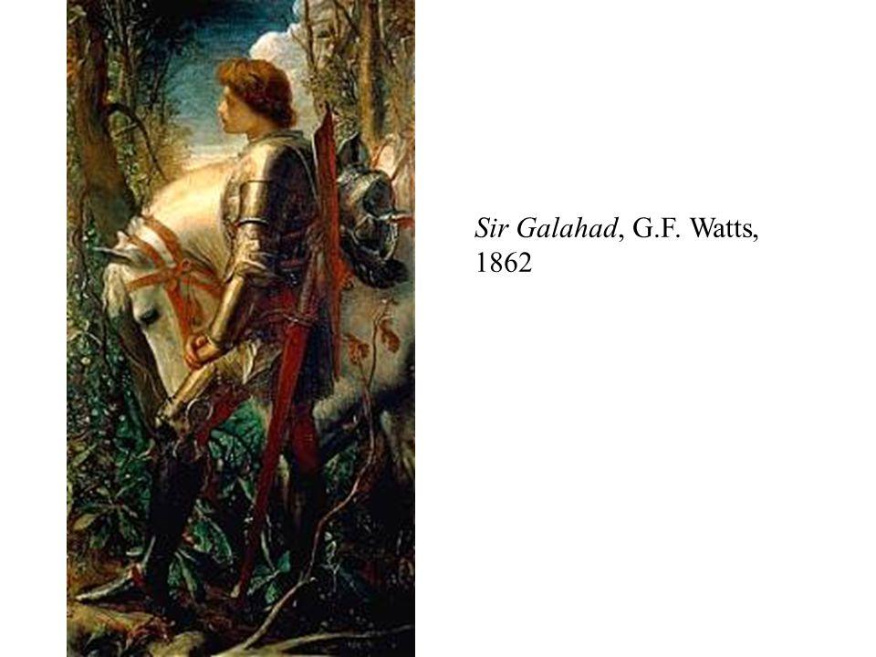 Sir Galahad, G.F. Watts, 1862