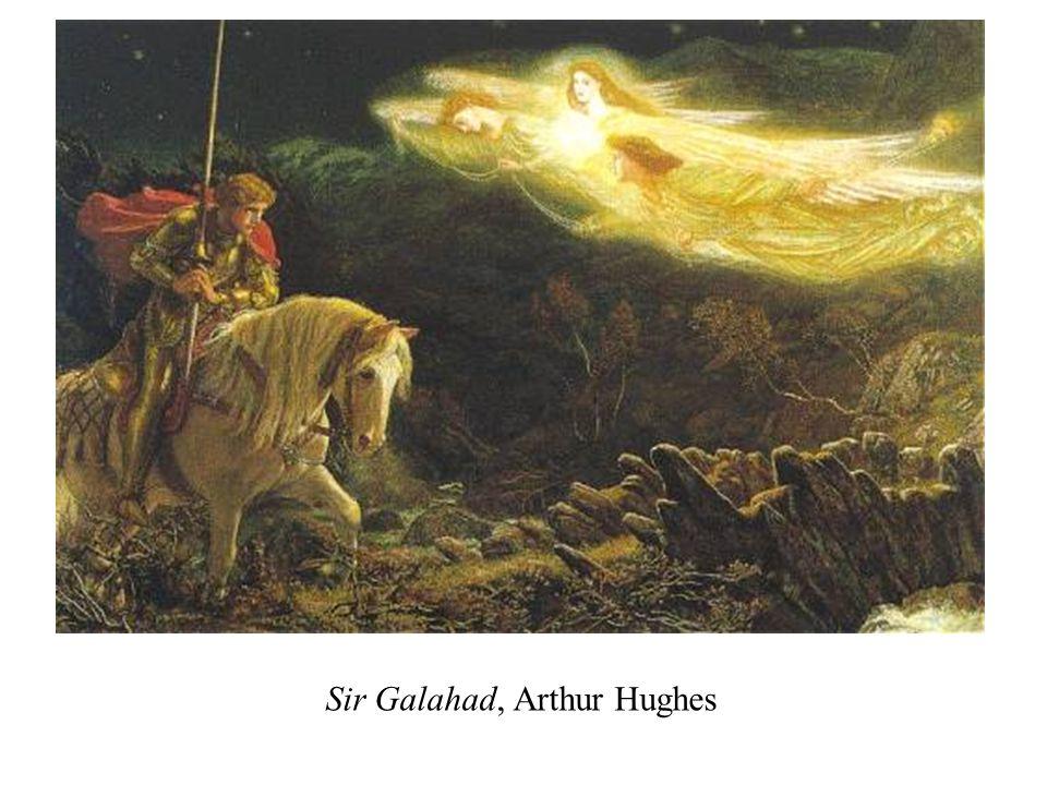 Sir Galahad, Arthur Hughes