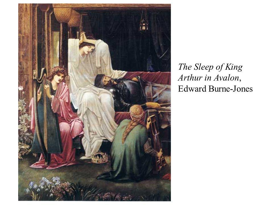 The Sleep of King Arthur in Avalon, Edward Burne-Jones