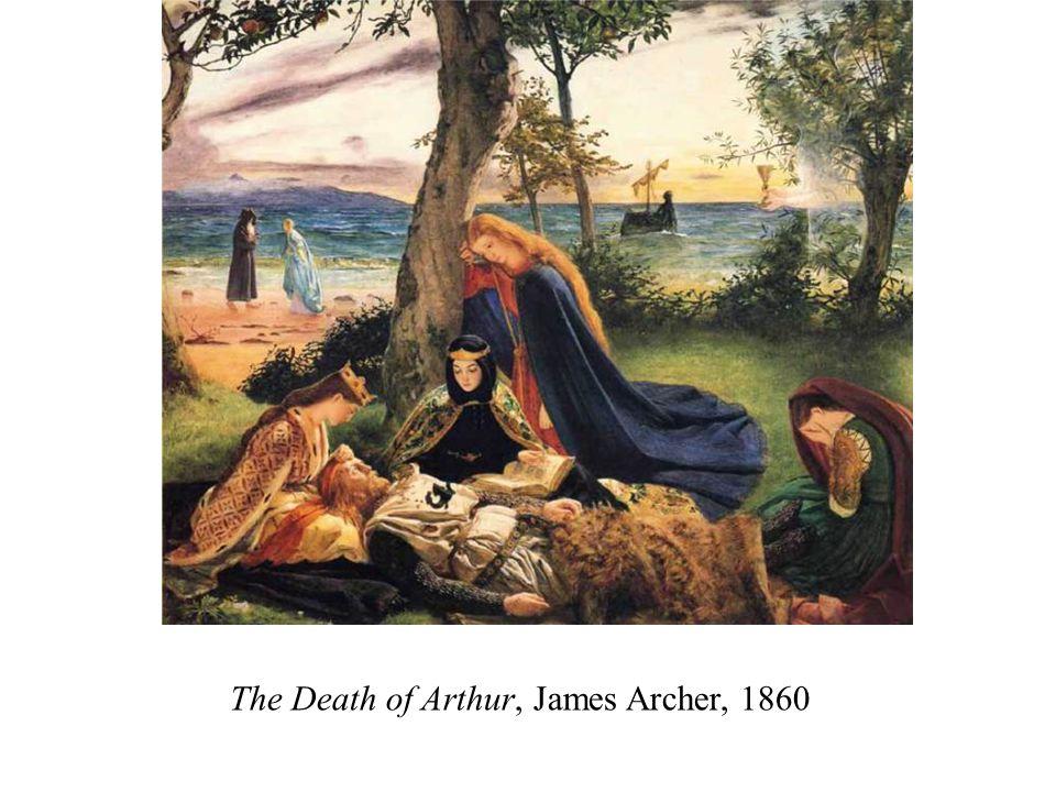 The Death of Arthur, James Archer, 1860