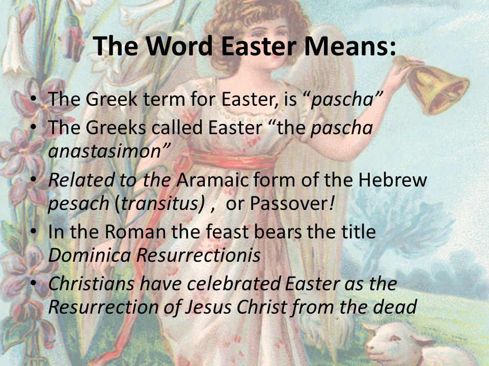Easter verses Christmas Easter is the principal feast of the ecclesiastical year or religious year for all Christian Faiths.