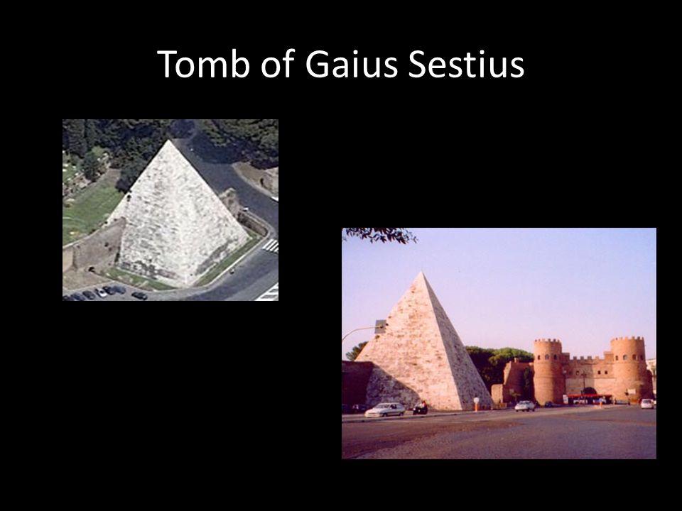 Tomb of Gaius Sestius