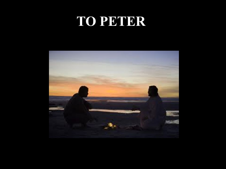 TO PETER