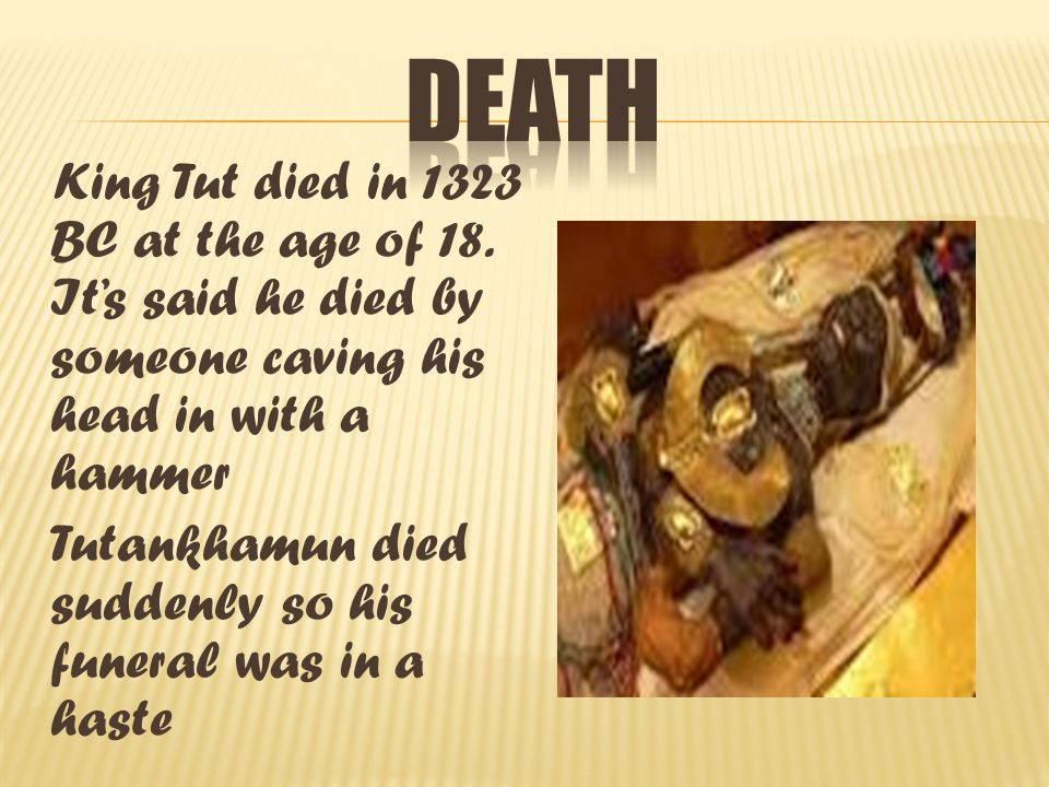 The reason king tut is so famous is because his tomb was SO hard to find and wasn t grave robbed.