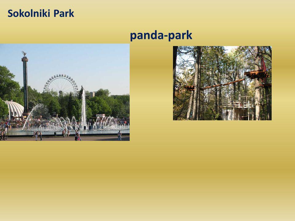 Sokolniki Park panda-park