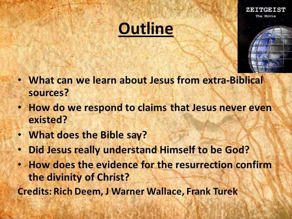 Of Resurrection For Bible The Outside Evidence The