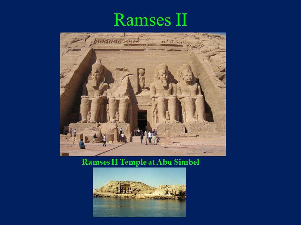 Ramses II Ramses II Temple at Abu Simbel