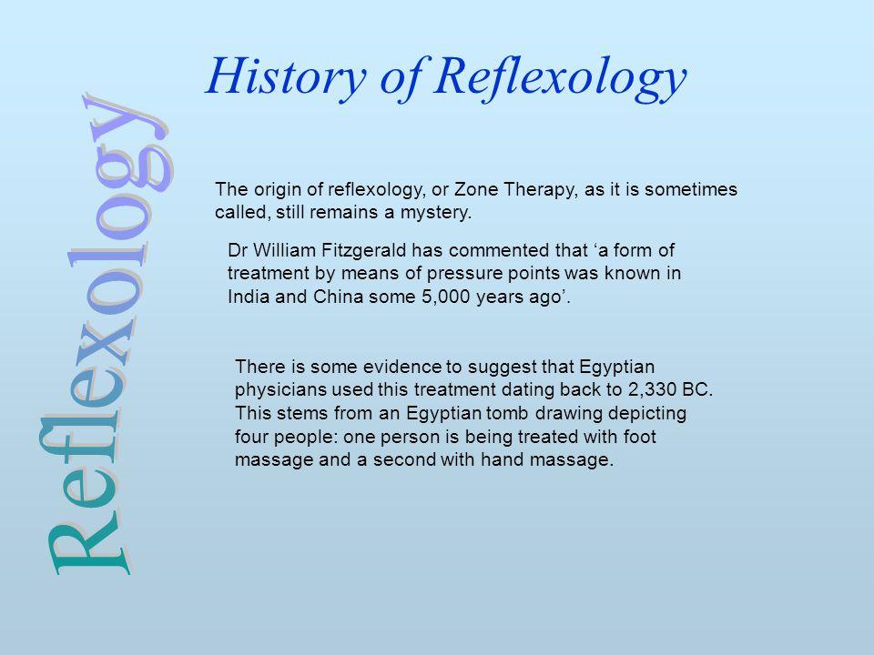 History of Reflexology