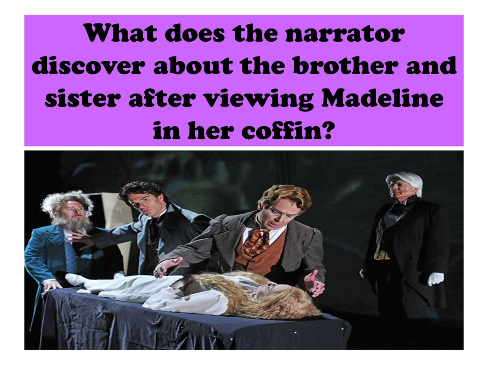 What does this discovery explain about the characters of Roderick and Madeline?