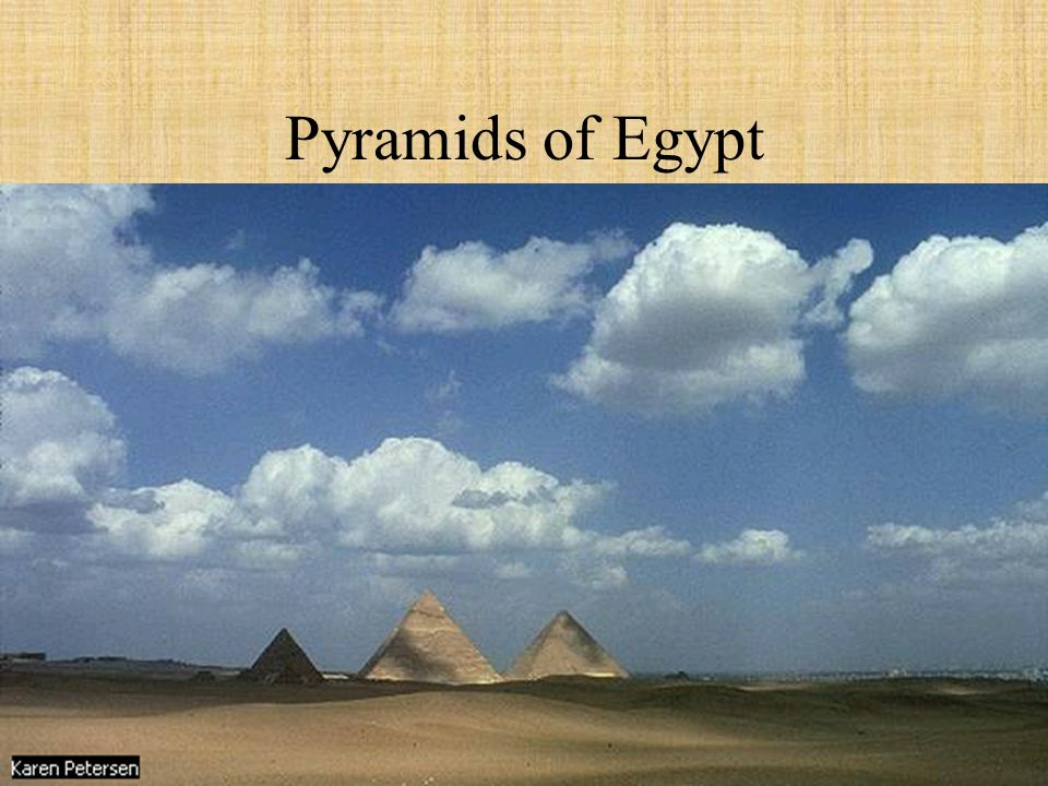 Second to his father Khufu s Pyramid in size 695 feet on a side at the base 450 feet high (originally 473 feet).