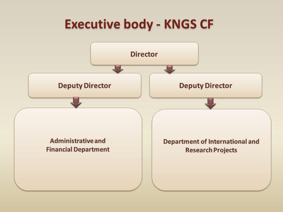 Executive body - KNGS CF