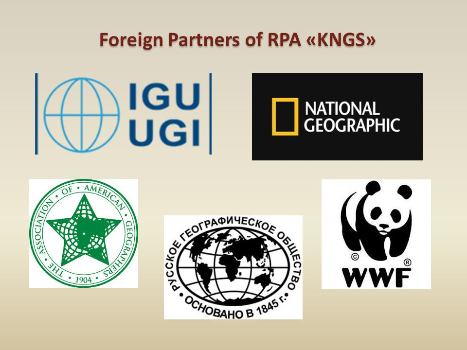 Foreign Partners of RPA «KNGS»
