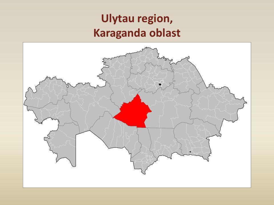 Ulytau region, Karaganda oblast
