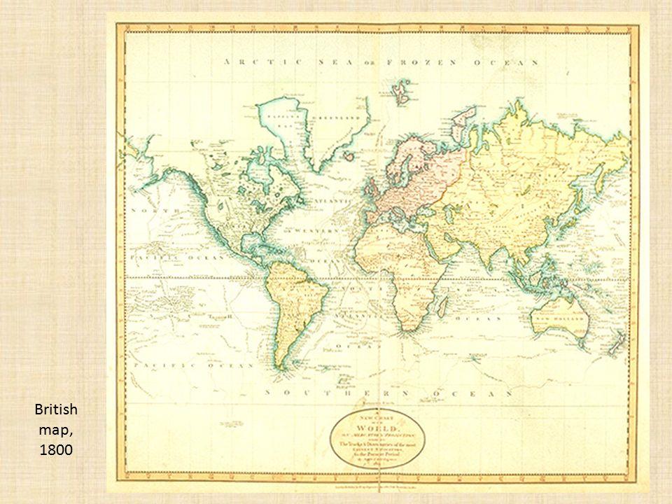 29 British map, 1800