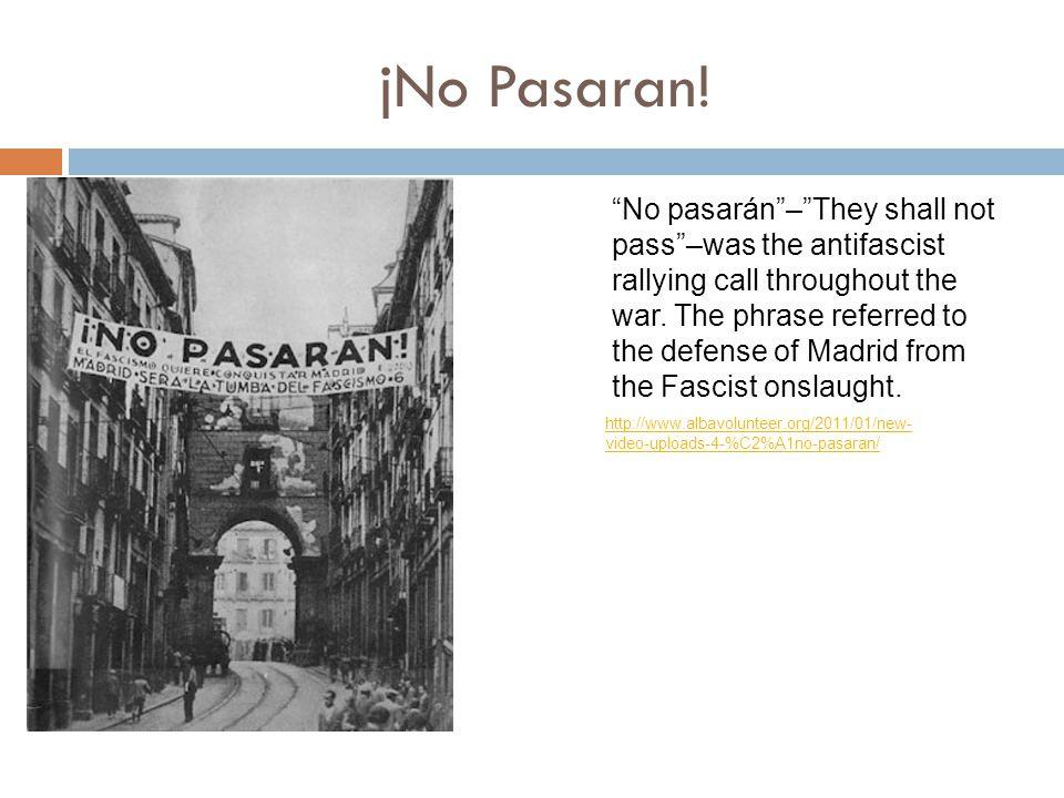 jNo Pasaran.