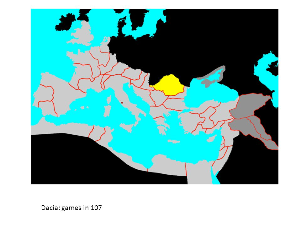 Dacia: games in 107