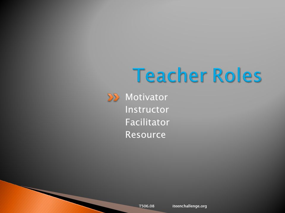 Motivator Instructor Facilitator Resource T506.08 iteenchallenge.org