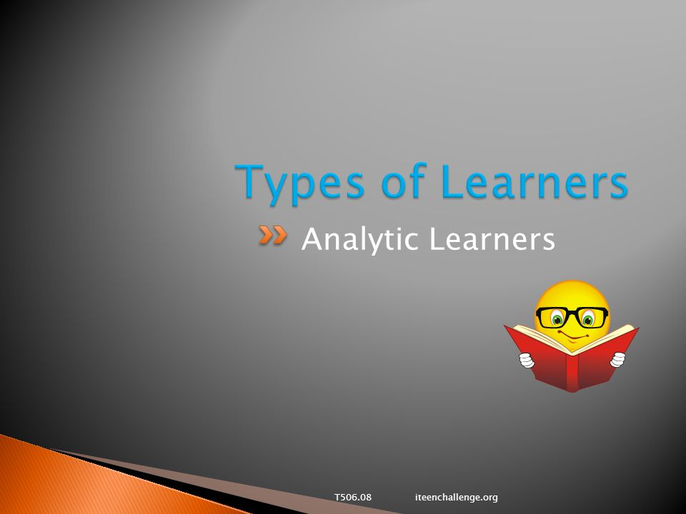 Analytic Learners T506.08 iteenchallenge.org
