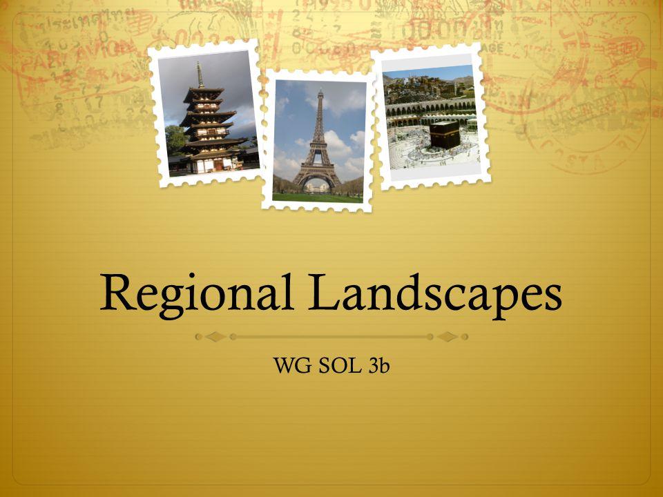 Regional Landscapes WG SOL 3b
